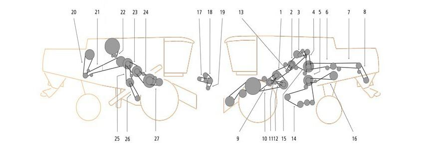 Claas Lexion 430 – 415