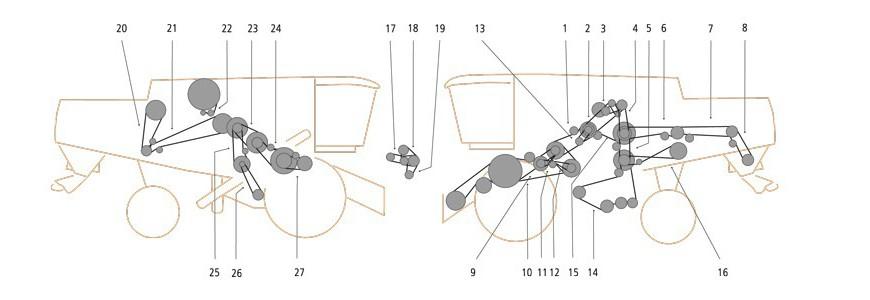 Claas Lexion 460 – 440