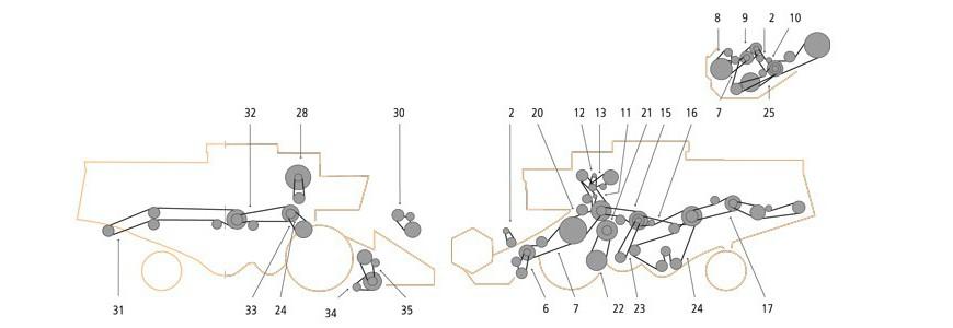 Claas Dominator 56 – 66